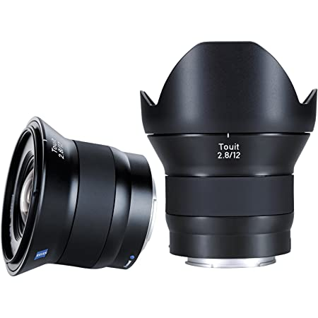 ZEISS Touit 2.8/12 for mirrorless APS-C System Cameras from Sony (with E-Mount), Black