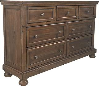 Signature Design by Ashley B719-31 Flynnter Dressers, Medium Brown