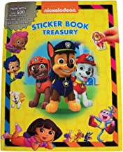Meggan's Warehouse Nickelodeon Sticker Book Treasury ~ Adventures with Friends (6 Books in 1, 3 Large Posters, Over 500 Reusable Stickers; 2016; 9.5