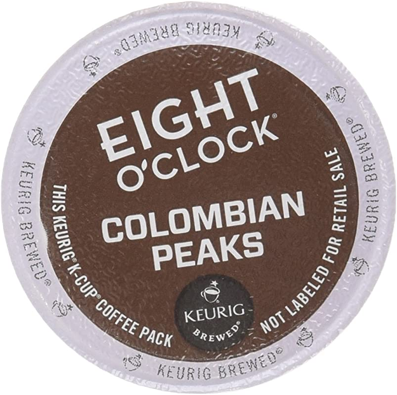 Eight O Clock Coffee Colombian Peaks 48 Count