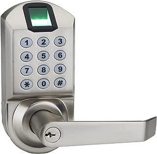 door handle fingerprint scanner