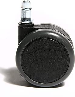 grigio Speciale per pavimenti ceramici moquette e duri. QC SELINAG22P 4 Ruote per Mobili 2 con Freno e 2 Senza Freno Con piastra di montaggio e viti incluse