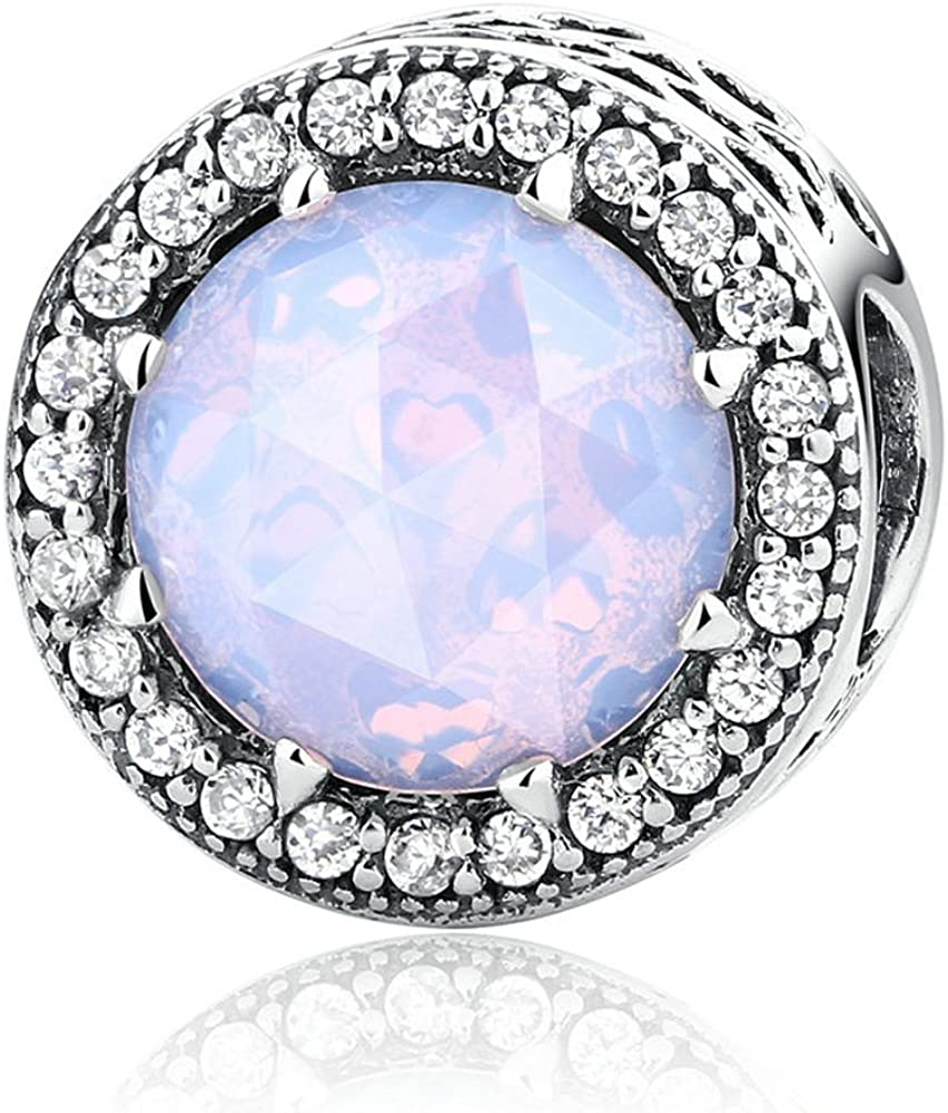 The Kiss Radiant Opening large release sale Hearts with Purchase CZ Fits Bead Sterling Eu Silver 925