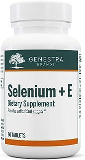 Genestra Brands - Selenium + E - Helps Prevent Cellular Free Radical Damage - 60 Tablets