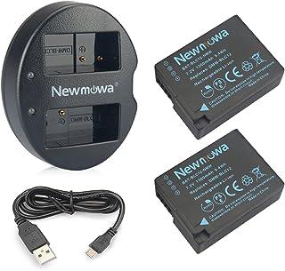 DMW-BLC12 Newmowa - Batería para Panasonic DMW-BLC12 DMW-BLC12E DMW-BLC12PP y Panasonic Lumix DMC-FZ200 DMC-FZ1000 DMC-G5 DMC-G6 DMC-G7 DMC-G85 DMC-GH2 DMC-GX8 (2 Unidades)