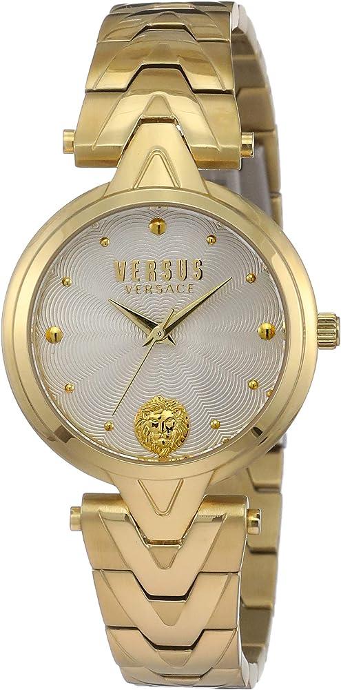 Versus versace orologio analogico con cinturino in acciaio inox da donna SCI250017