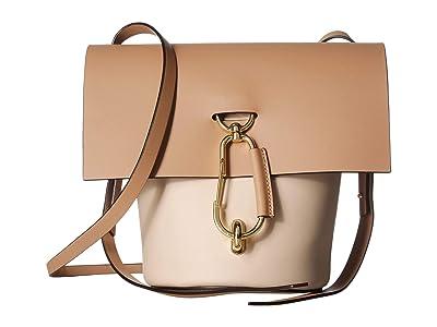 ZAC Zac Posen Belay Crossbody (Oat) Shoulder Handbags