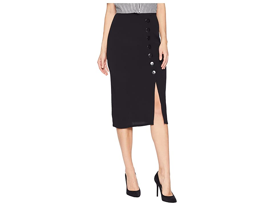 Flynn Skye Vivian Skirt (Black) Women's Skirt