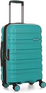 Antler Juno 2 4W Cabin Roller Carry-On Hardside, Teal, 56cm