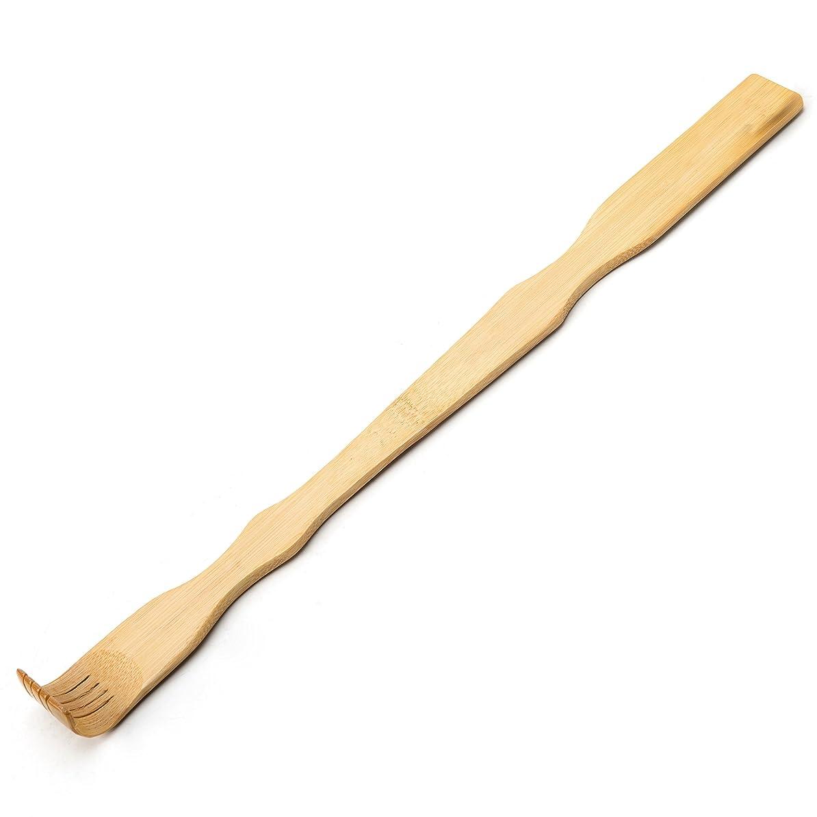 賠償枯れる嘆願TungSam 竹製孫の手一本 背中かゆみを止め マッサージ用