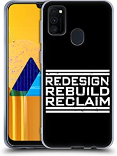 Official WWE Redesign, Rebuild, Reclaim Seth Rollins Soft Gel Case Compatible for Samsung Galaxy M30s (2019)