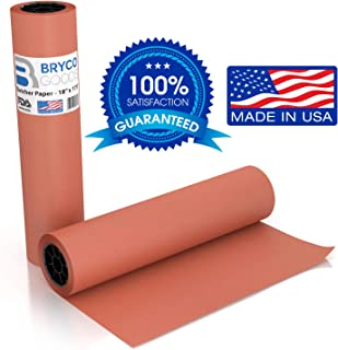 Pink Kraft Butcher Paper Roll - 18 Inch x 175 Feet (2100 Inch) - Food Grade Peach Wrapping Paper for Smoking Meat of all Varieties – Unbleached, Unwaxed and Uncoated - Made in USA