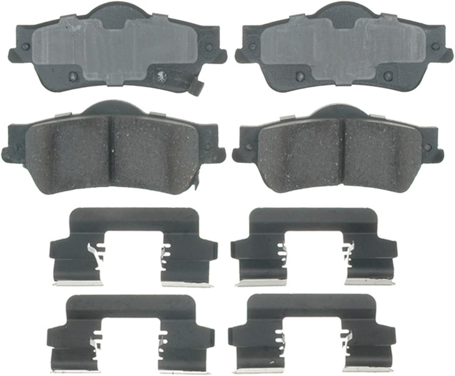 ACDelco Gold 17D1352CH All items in the store Ceramic Rear Brake Ranking TOP19 Pad Set Disc
