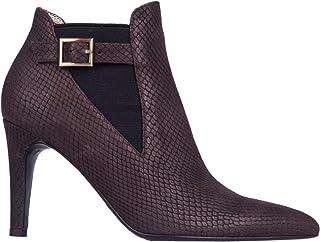 6a5e28c162310d Kesslord Estel GG, Chaussures Bottines Anita en Veau imprimé façon Python  Petites écailles
