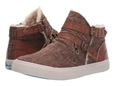 Blowfish Mojo-B SHR (Brown Grungy Weave/Amazonia PU) Women
