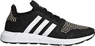 adidas Womens Originals Swift Run Trainers in core Black/Footwear White.