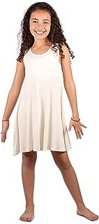   Sundress   Sleeveless   Casual T-Shirt Dress  Tunic   Girls Lightweight & Dainty Dress   Summer   Spring
