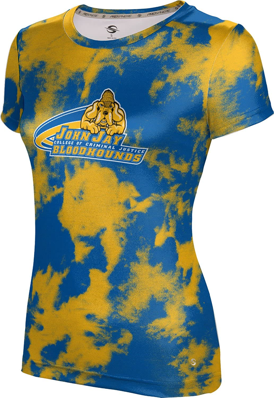 John Jay College of Criminal Justice Girls' Performance T-Shirt (Grunge)