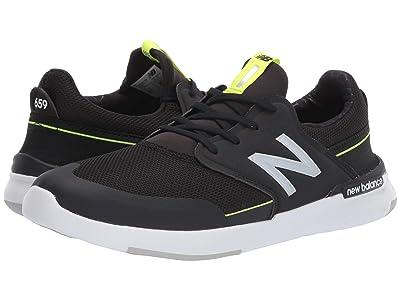 New Balance Numeric AM659 (Black/Grey) Men