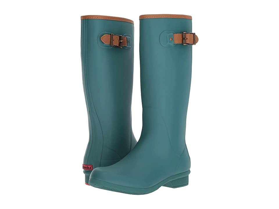Chooka City Solid Tall Boot (Teal) Women