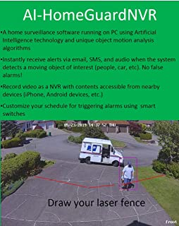 AI-HomeGuardNVR Sets a New Standard for NVR Home Security Systems Using Artificial Intelligence Technology to Protect Your Home and Loved Ones