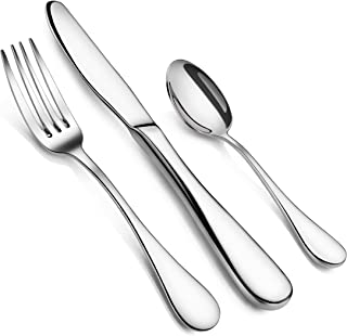 Artaste 59380 Rain 18/10 Stainless Steel Flatware 36-Piece set, Service of 12