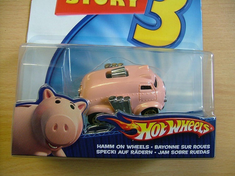 Toy Story   Hotwheels  Hamm on Wheels Die Cast Vehicle