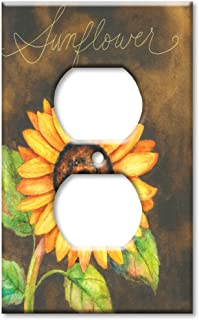 Art Plates - Sunflower Switch Plate - Outlet Cover