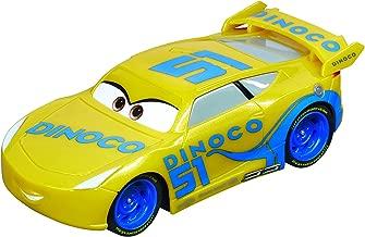 Carrera 64083 GO!!! Disney/Pixar Cars 3 Dinoco Cruz Slot Car Racing Vehicle