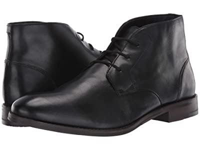 Clarks Flow Top (Black Leather) Men