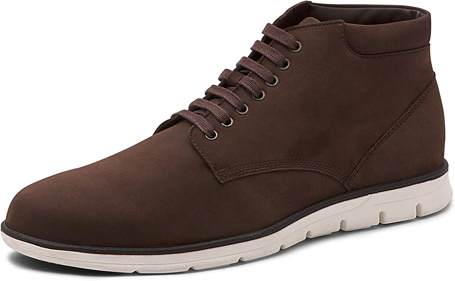 AZYRRHA Men's Leather Valencia Boot Leather Lined with Premium Cushion Insole