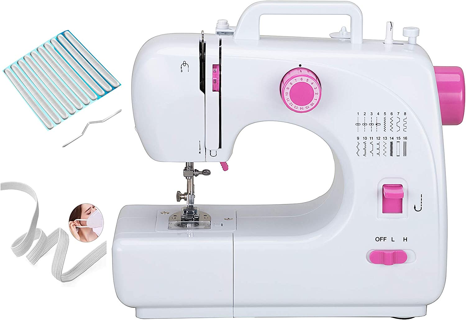 Portable Sewing Machine specialty Regular dealer shop for Adult Beginners M Household Electric