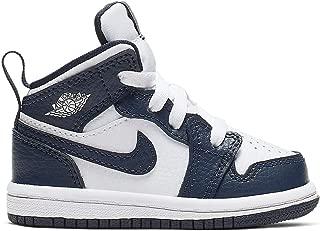 Boys Air Jordan 1 Mid (td) Toddler Shoe Kids Unisex-Baby 640735-174 Size 2