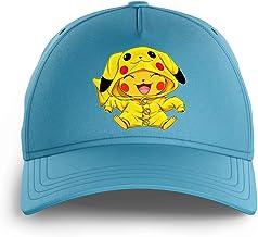 Okiwoki Casquette Enfant Noire Parodie Pokémon - Pikachu - Le Cosplayer Ultime !!(Casquette de qualité supérieure - impri...