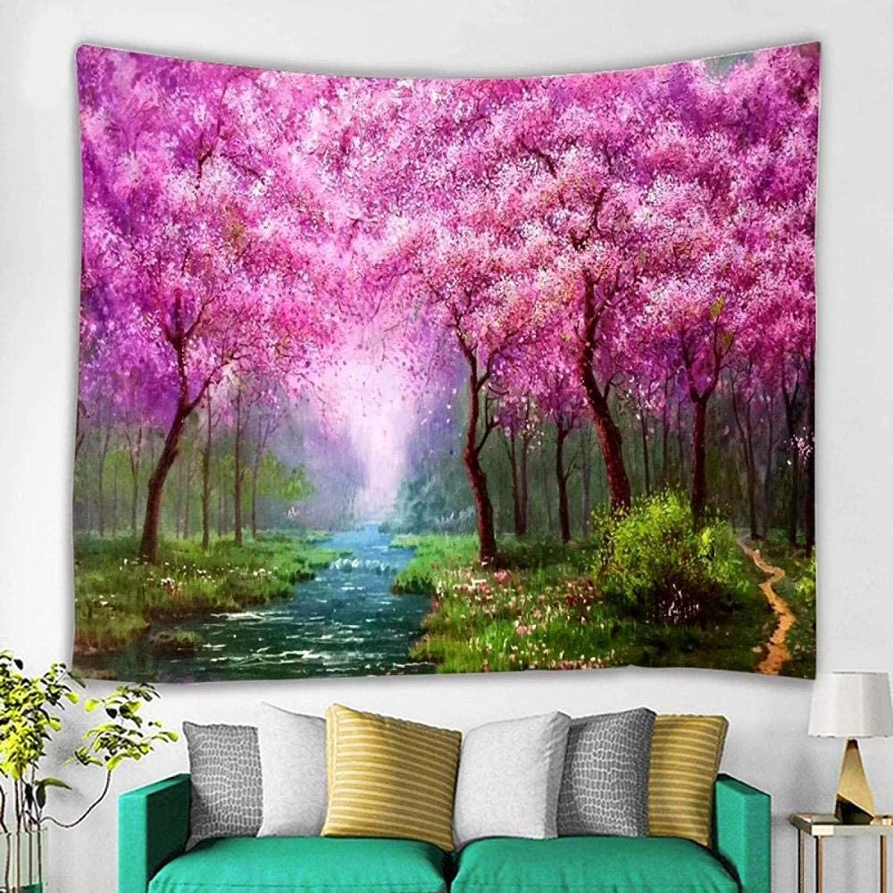 aksldf Tapestry Art Financial sales sale Landscape Painting Taolin Mural Ca Household Surprise price