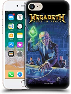 Official Megadeth Rust in Peace Album Cover Key Art Hard Back Case Compatible for iPhone 7 / iPhone 8