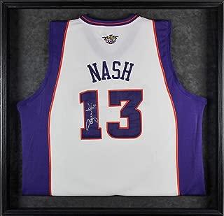 Steve Nash Autographed Jersey - Framed White BAS #A68532 - Beckett Authentication - Autographed NBA Jerseys