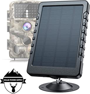 Campark Trail Camera Solar Panel DC 6V/3000mAh Solar...