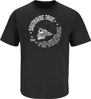 Chicago Baseball Fans. Southside True 'Til The Day I'm Through Black T-Shirt (Sm-5x)