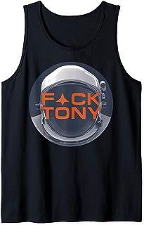 Netflix Space Force F Tony Débardeur