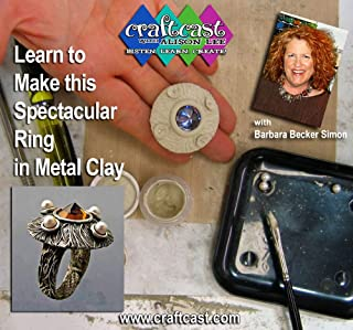 Learn to Make this Spectacular Ring in Metal Clay with Barbara Becker Simon