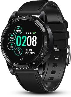 comprar comparacion GOKOO Reloj Inteligente Bluetooth Smartwatch Hombre Deportivo con Monitor de Ritmo Cardíaco/Sueño/Presión Sanguínea Podóme...