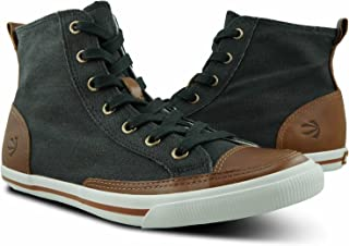 Burnetie Men's High Top Vintage Sneaker