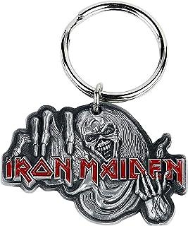 Unbekannt Iron Maiden The Number of The Beast Unisex Schlüsselanhänger Standard Zinklegierung Band-Merch, Bands