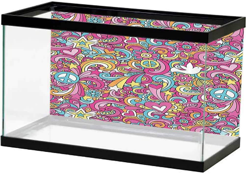 1960s Ranking TOP1 Decorations Collection Aquarium Poster Party Night Max 73% OFF Music C