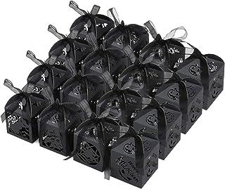 GWHOLE ハロウィン包装 Halloween ハロウィンキャンディー ギフトボックスお菓子ギフトケース 紙 コウモリ カボチャ 猫 クモの巣 40個入れ