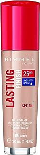 Rimmel London, Lasting Finish 25 Hour Foundation with SPF 20, 100 Ivory, 30 ml