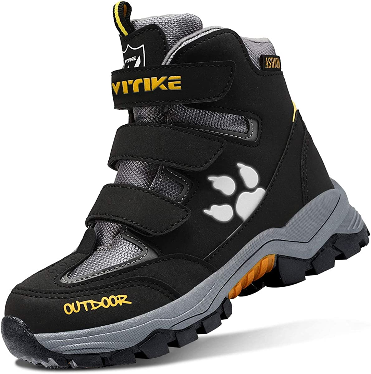 Boys Snow Boots Fort Worth Mall Waterproof Antiskid safety Outdoor Hiking Warm Sl