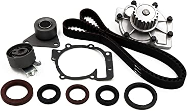 Timing Belt Water Pump Kit fits for 2001-2009 Volvo S60, 1998-2007 V70, 2003-2007 XC70, 2004-2006 S80, 2003-2006 XC90, 1998-2004 C70 1.9L 2.3L 2.4L 2.5L Turbocharged