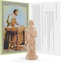 Saint Joseph Statue Home Seller Kit with Prayer Card and Instructions Religious Gifts
